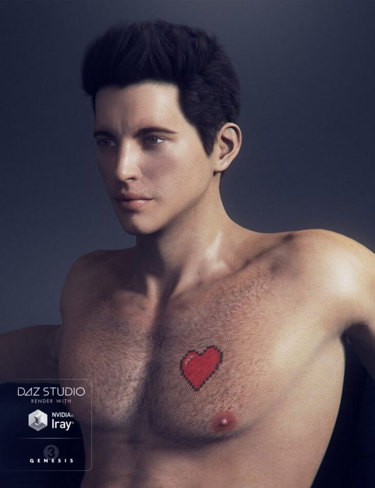 Theo for Genesis 3 Male(s)
