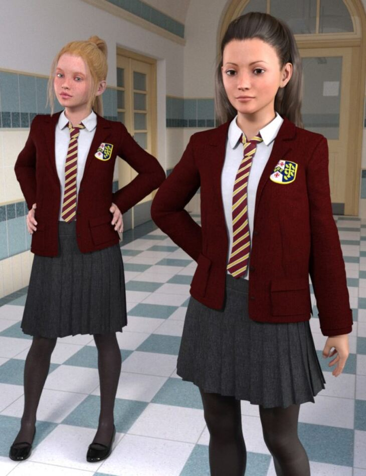 Time for School for Genesis 3 Female(s)