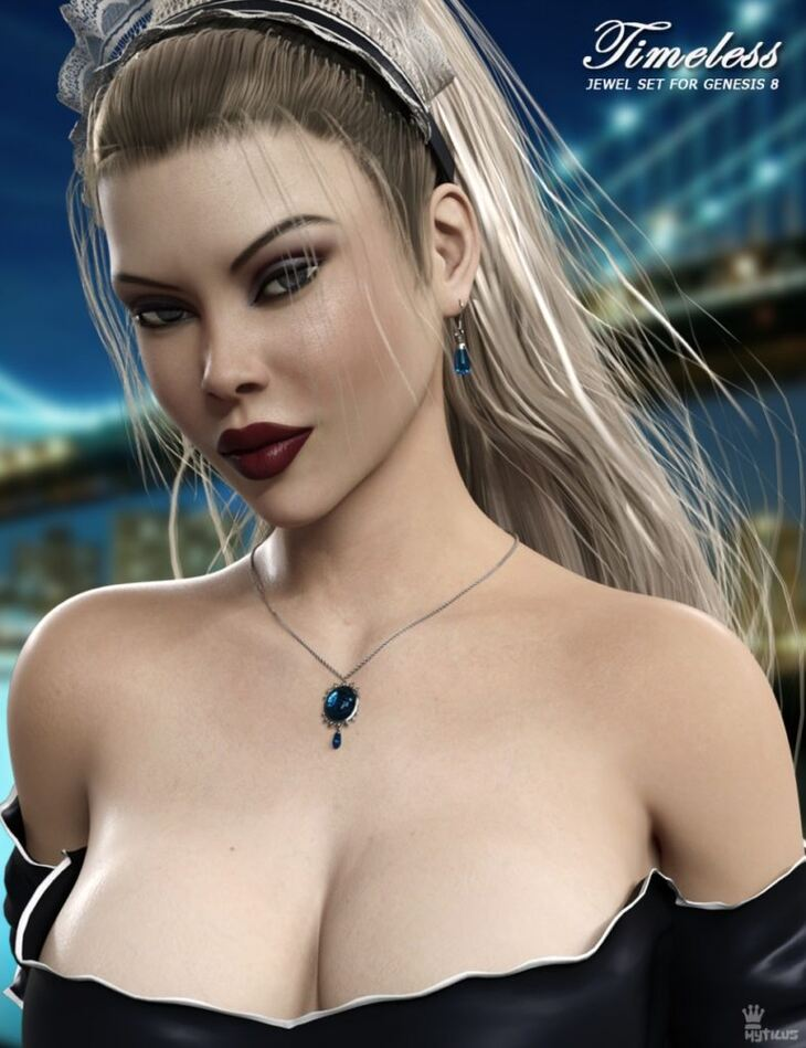 Timeless Jewel Set for Genesis 8 Female(s)