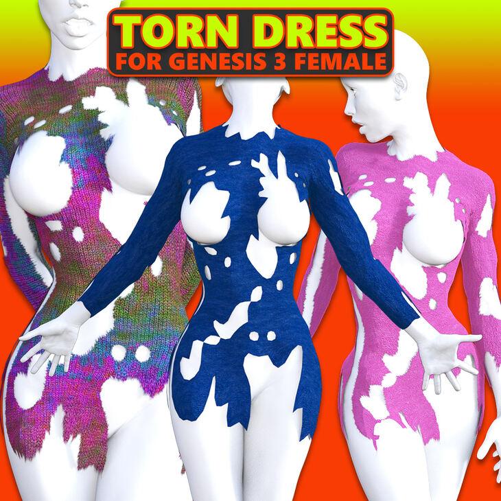 Torn Dress for G3 females