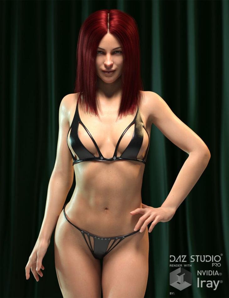 Trident Bikini for Genesis 8 Female and Genesis 3 Female