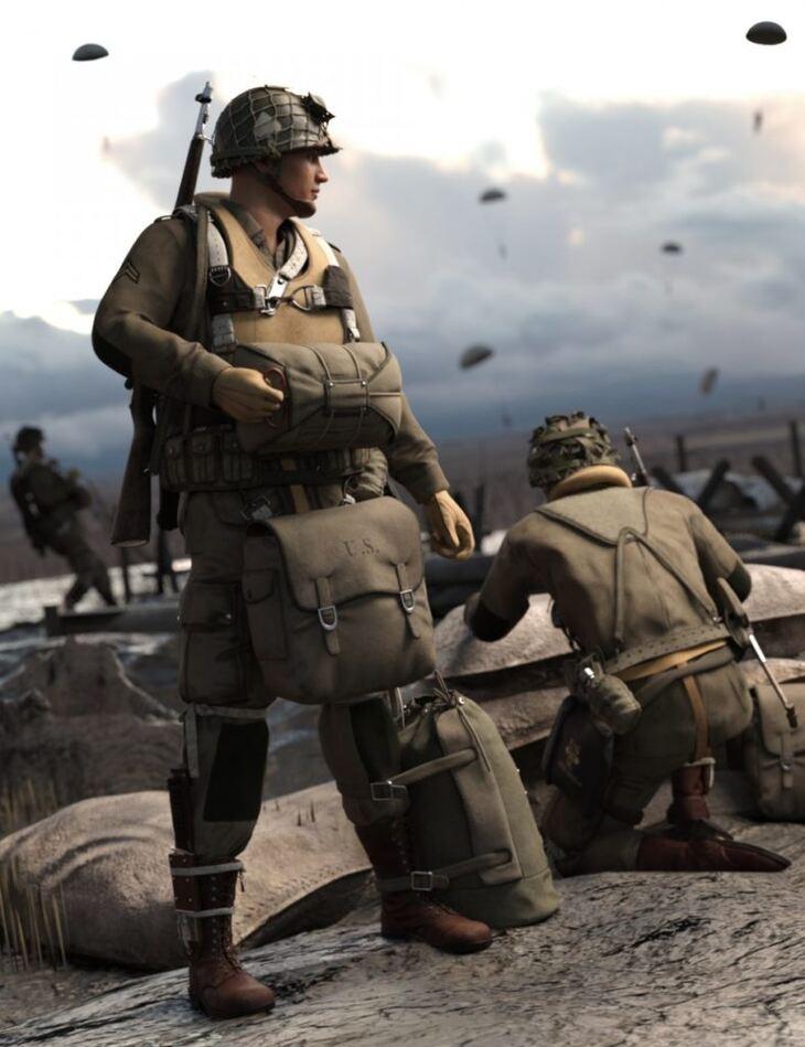 US WW2 Uniform Paratrooper Expansion