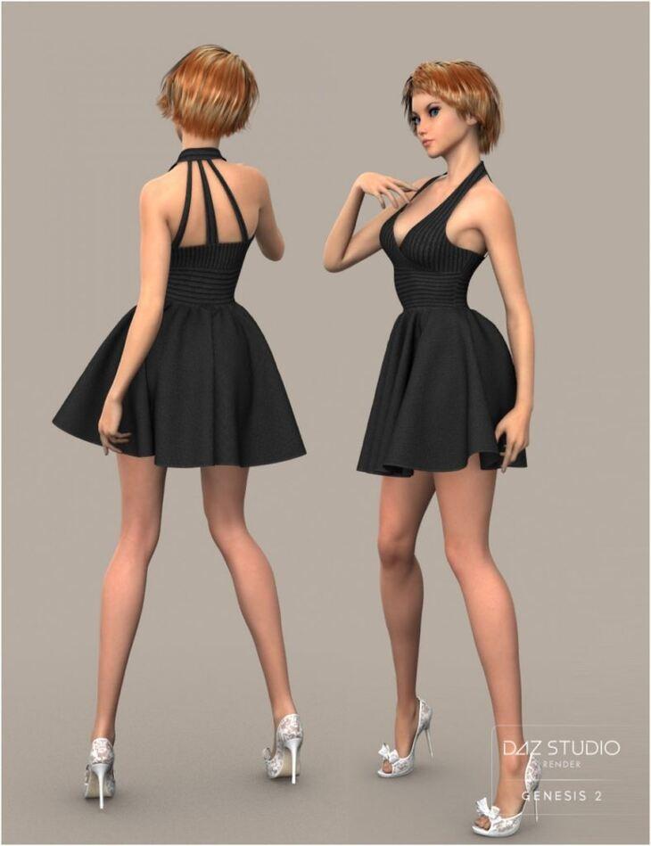 W Skirt for Genesis 2 Female(s)