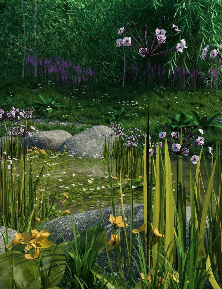 Wild Flowers - Water Plants vol 1