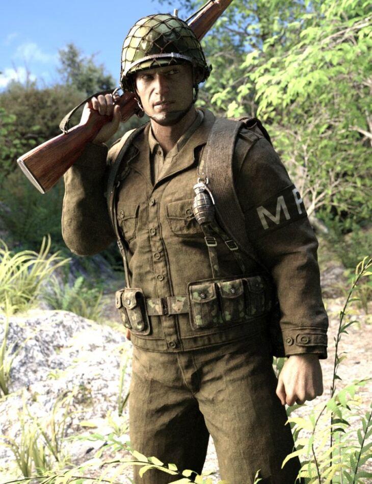 World War II U.S. Uniform HD Textures