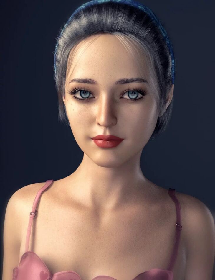 XiaoFang Character and Hair For Genesis 8 Female(s)
