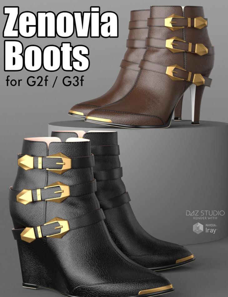 Zenovia Boots for G2F/G3F