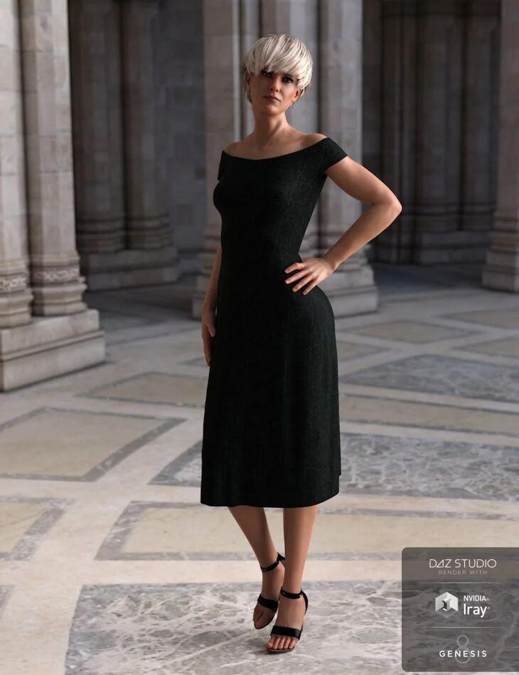 dForce Summer Dress Venice for Genesis 8 Female(s)