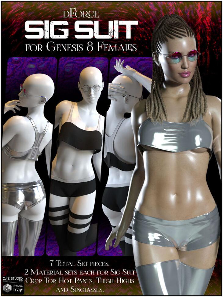 dForce Sig Suit for Genesis 8 Female