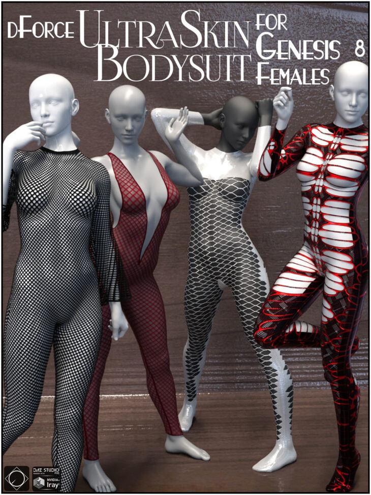 dForce UltraSkin Bodysuit for Genesis 8 Females